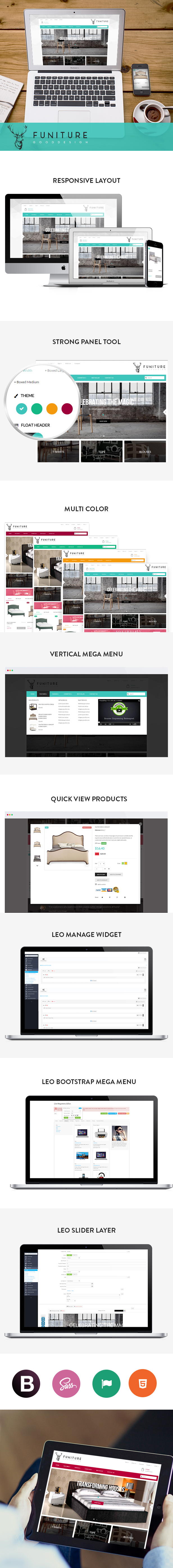 Prestashop themes for Furniture online